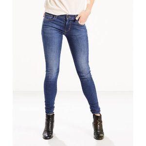 Levi's  710 Super Skinny Jeans - Frolic Blue